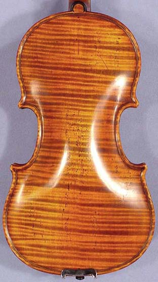 Antiqued 1/10 PROFESSIONAL 'GAMA Super' One Piece Back Violin on sale