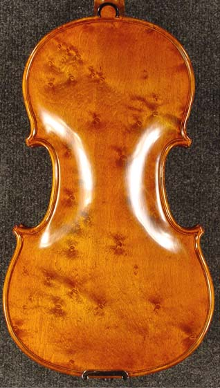Special 4/4 PROFESSIONAL 'GAMA Super' Bird's Eye One Piece Back Violin on sale