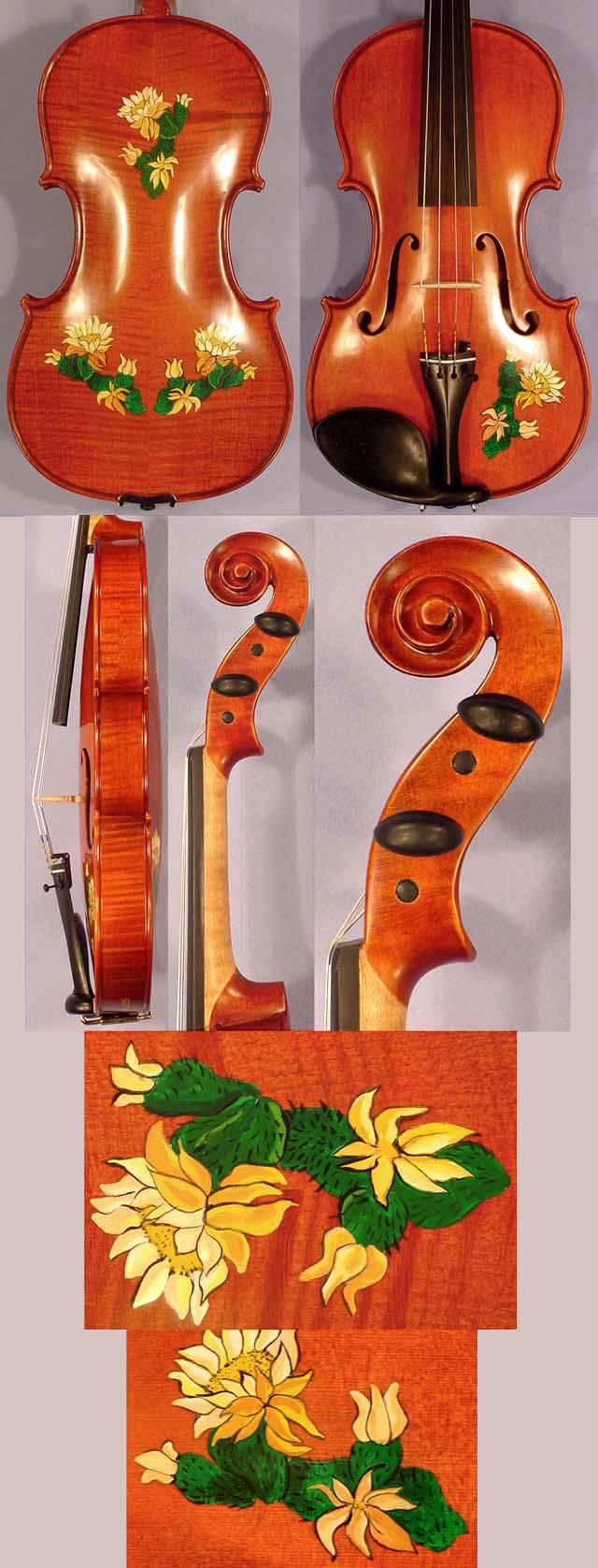 Artistic 4/4 WORKSHOP 'GEMS 1' Flowers Violin