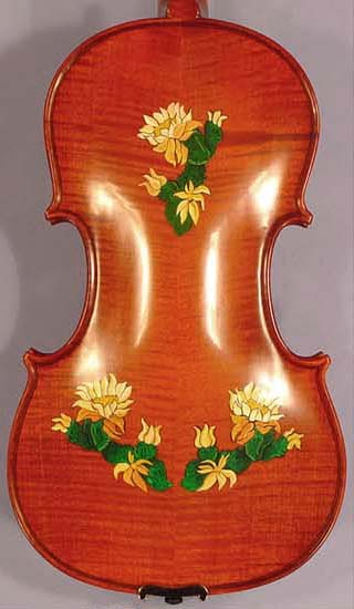Artistic 4/4 WORKSHOP \'GEMS 1\' Flowers Violin on sale
