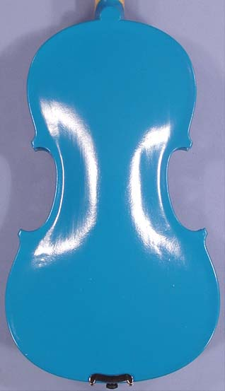 Design 4/4 School 'GENIAL 1-Oil' Blue Violin on sale