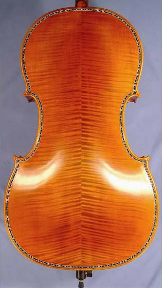 Special 4/4 MAESTRO VASILE GLIGA 'Inlay Work' Cello on sale