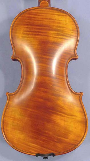 Antiqued 3/4 PROFESSIONAL 'GAMA Super' Wild Maple One Piece Back Violin on sale