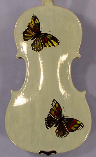 4/4 ADVANCED Student 'GEMS 2' Blue Butterflies Violin on sale