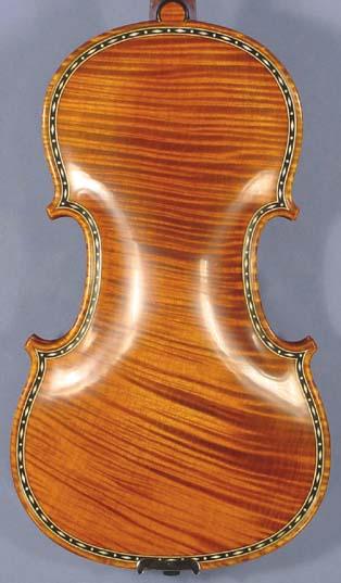 4/4 MAESTRO VASILE GLIGA Rare Inlaid With Bone and Ebony Purfling Inlay Work Copy of 'Hellier 16 on sale