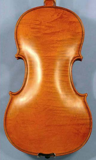Special 4/4 ADVANCED Student 'GEMS 2' Bird's Eye One Piece Back Violin on sale