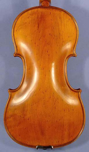 Antiqued 4/4 PROFESSIONAL 'GAMA' Bird's Eye Poplar One Piece Back Violin on sale