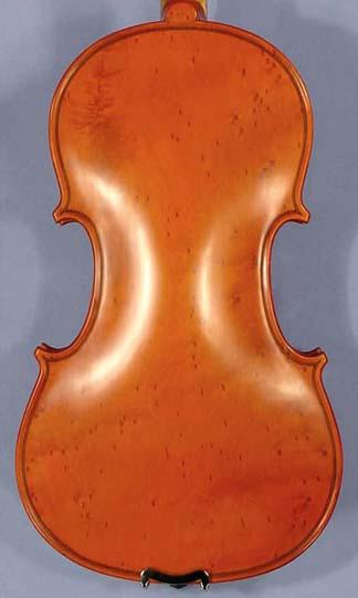4/4 ADVANCED Student 'GEMS 2' Violin One Piece Back on sale