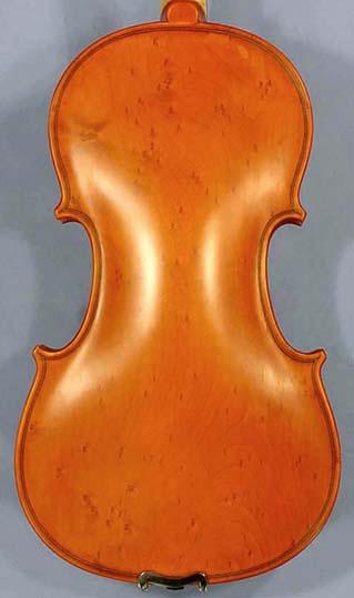 4/4 ADVANCED Student 'GEMS 2' Bird's Eye Maple One Piece Back Violin on sale