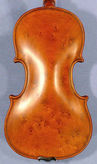Special 1/4 WORKSHOP 'GEMS 1' Bird's Eye One Piece Back Violin on sale