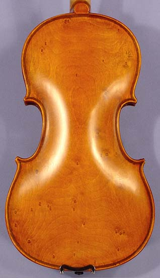 Special Antiqued 1/2 WORKSHOP 'GEMS 1' Bird's Eye One Piece Back Violin on sale