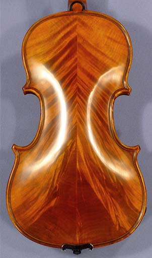 1/8 PROFESSIONAL GAMA 'Super' Wild Maple Violin on sale