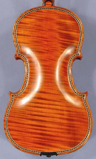 4/4 MAESTRO VASILE GLIGA Special Inlaid Purfling Inlay Work One Piece Back Violin  on sale