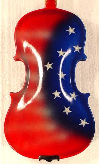 1/10 ADVANCED Student 'GEMS 2' Red US Flag Violin on sale