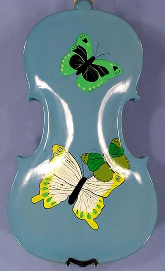 Artistic 4/4 ADVANCED Student 'GEMS 2' Butterflies Blue Violin on sale
