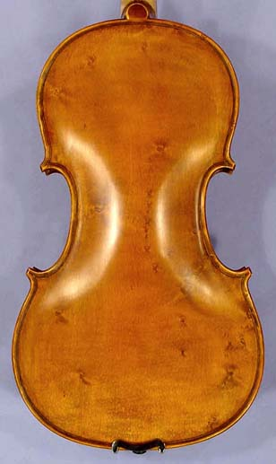 Antiqued 4/4 ADVANCED Student 'GEMS 2'   One Piece Back Bird's Eye Maple Violin on sale