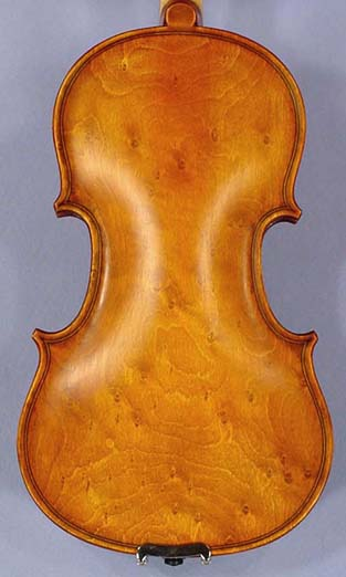 Special Antiqued 1/10 WORKSHOP 'GEMS 1' Bird's Eye One Piece Back Violin on sale