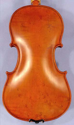 Special 3/4 WORKSHOP 'GEMS 1' Bird's Eye One Piece Back Violin on sale