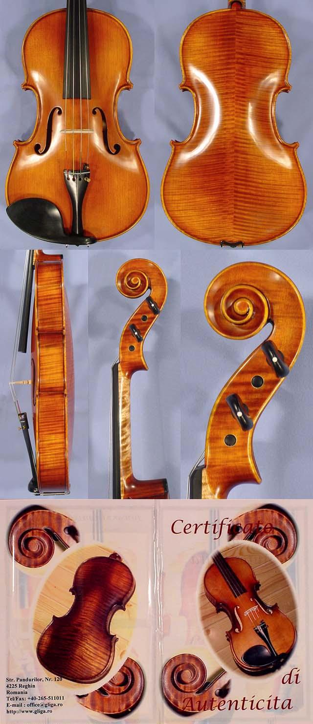 """Antiqued 17"""" MAESTRO GLIGA Viola"""