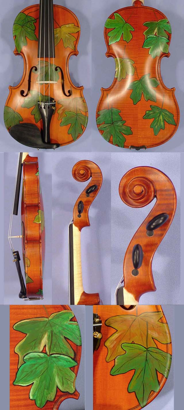 4/4 WORKSHOP 'GEMS 1' Leaves Violin