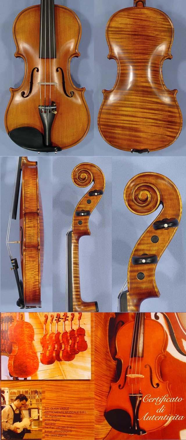 3/4 MAESTRO GLIGA One Piece Back Violin