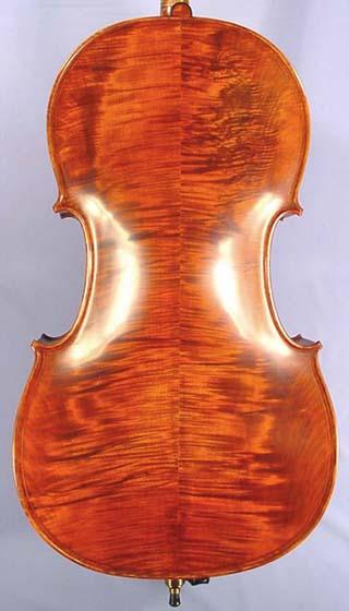 4/4 MAESTRO VASILE GLIGA Inlaid Double Purfling Wild Maple Cello on sale