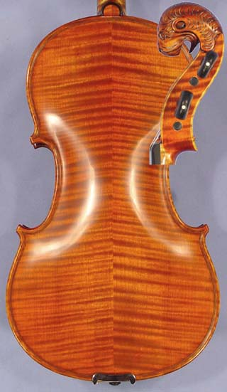 4/4 MAESTRO VASILE GLIGA Relief Wood Carving 'Tyrolean' Scroll Violin on sale