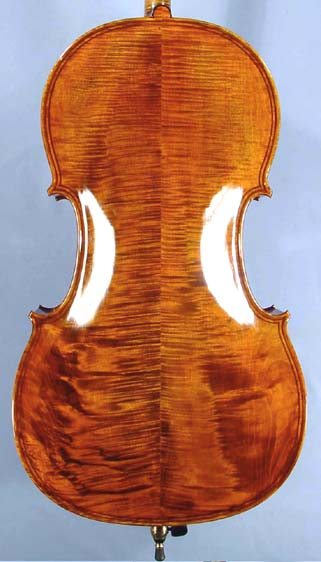 4/4 MAESTRO VASILE GLIGA Inlaid Double Purfling Wild Maple Cello on sale