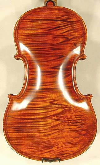 4/4 MAESTRO VASILE GLIGA Inlaid Double Purfling Wild Maple One Piece Back Violin Guarneri Model on sale