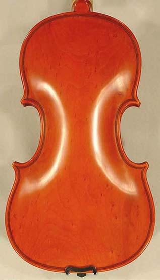 1/4 WORKSHOP 'GEMS 1' Bird's Eye Maple One Piece Back Violin on sale