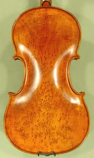 4/4 PROFESSIONAL 'GAMA Super' Bird's Eye Maple One Piece Back Violin on sale