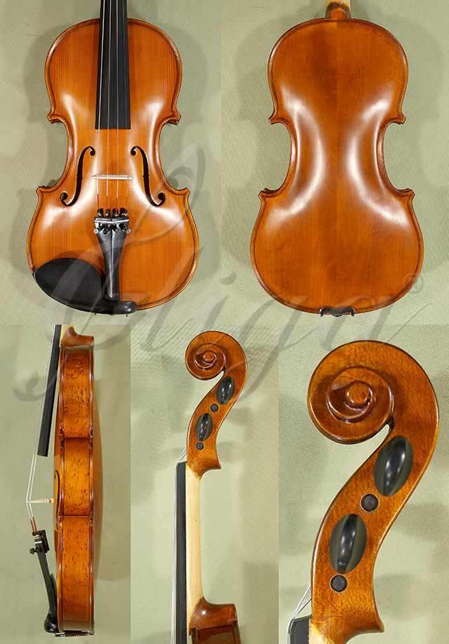 Antiqued 4/4 School 'GENIAL 1-Oil' Willow Violin