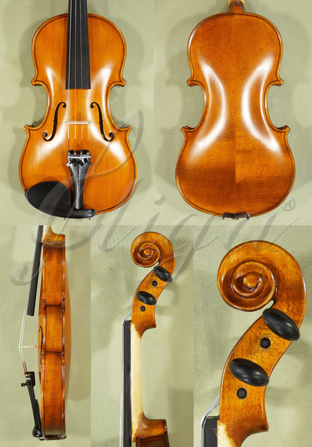Antiqued 1/2 School 'GENIAL 1-Oil' Violin