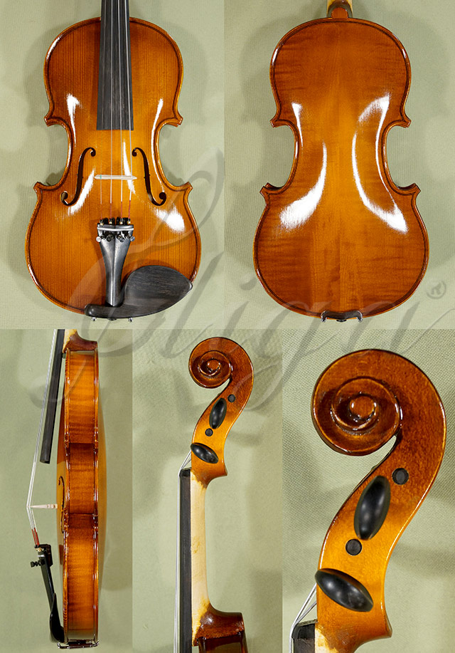 Shiny 1/2 School 'GENIAL 1-Oil' Left Handed Violin