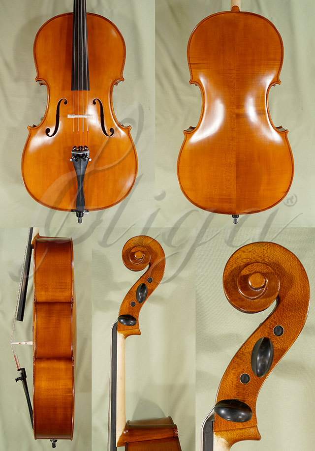 Antiqued 4/4 School 'GENIAL 1-Oil' Left Handed Cello