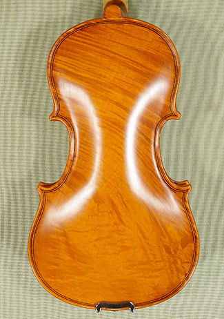 Antiqued 1/8 WORKSHOP \'GEMS 1\' Wild Maple One Piece Back Violin on sale