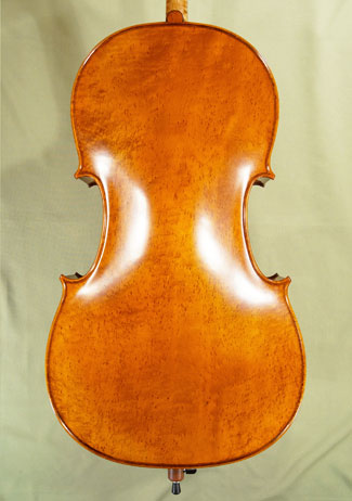 4/4 PROFESSIONAL \'GAMA\' Densely Bird\'s Eye Maple One Piece Back Cello  on sale