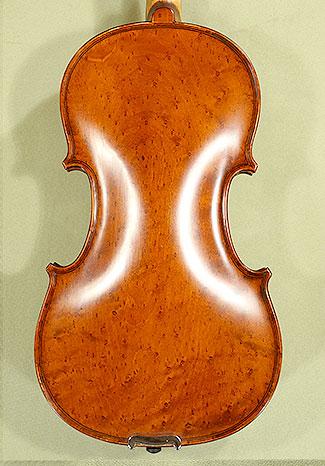 4/4 WORKSHOP \'GEMS 1\' Bird\'s Eye Maple One Piece Back Violin on sale