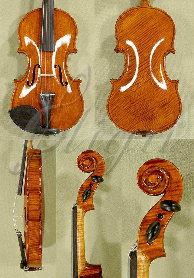 Shiny Antiqued 1/10 WORKSHOP 'GEMS 1' One Piece Back Violin