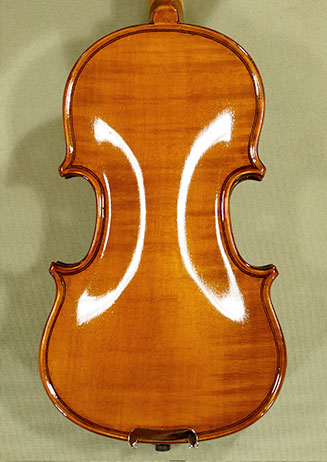Shiny Antiqued 1/32 Student 'GEMS 2' One Piece Back Violin on sale