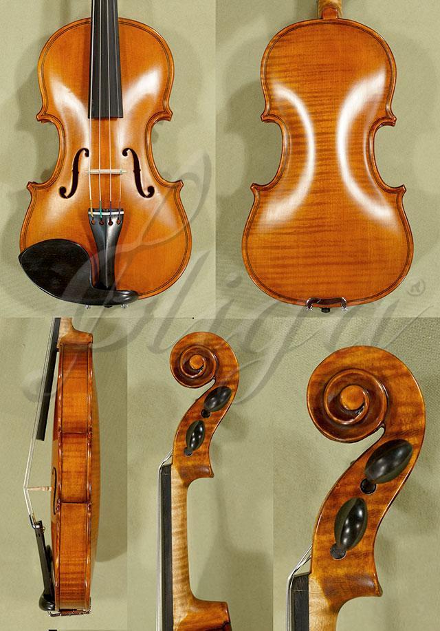 Antiqued 1/10 WORKSHOP 'GEMS 1' One Piece Back Violin
