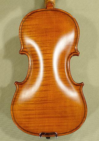 Antiqued 1/10 WORKSHOP \'GEMS 1\' One Piece Back Violin