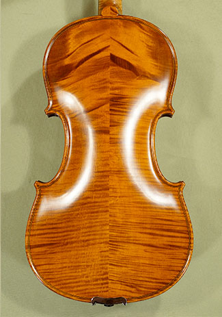 4/4 PROFESSIONAL 'GAMA Super' Wild Maple Violin on sale
