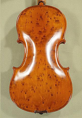 4/4 MAESTRO VASILE GLIGA Bird\'s Eye Maple One Piece Back Violin on sale