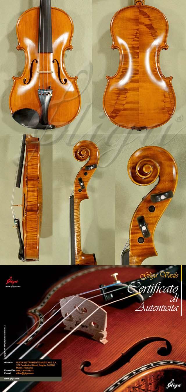 4/4 MAESTRO VASILE GLIGA Wild Maple Violin