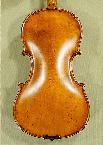 3/4 WORKSHOP \'GEMS 1\' Bird\'s Eye Maple One Piece Back Violin on sale