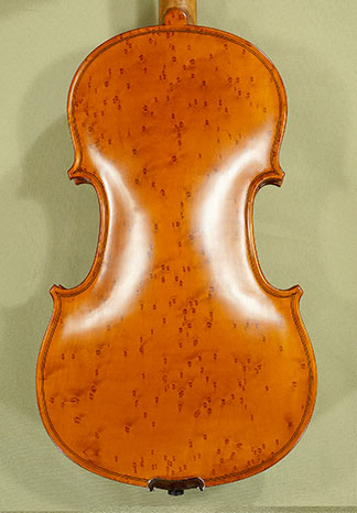 4/4 WORKSHOP \'GEMS 1\' Bird\'s Eye Maple One Piece Back Violin \'Guarneri\' on sale
