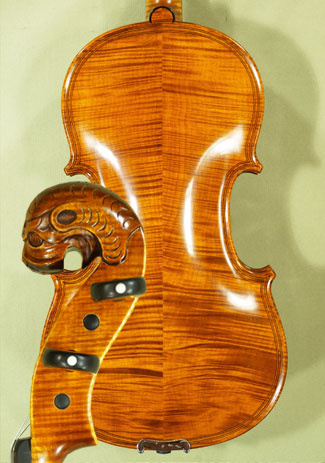 4/4 MAESTRO VASILE GLIGA Inlaid Double Purfling \'Tyrolean\' Scroll Violin on sale