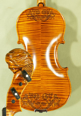 4/4 MAESTRO VASILE GLIGA \'Girl\' Scroll Violin on sale
